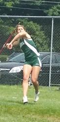 Kelsey McDonald improved her javelin technique throughout her career at East Brunswick High School. She had a personal best of 132-9, and she took first place at this year's NJSIAA Central Jersey Group IV meet.