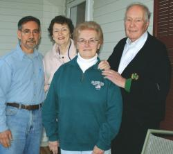 Members of the Clement House board include (l-r) Steven DiStefano, Joann Colot, Jane Slee and President Frank Mack.