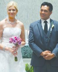 Annmarie Schaller and Luis Manuel Dahl