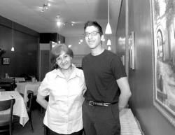 FARRAH MAFFAI Luz and Elzio Ciuffardi stand proudly in the new Peruvian restaurant their family opened on Main Street, South River, in April.