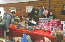 Members of Middlesex County 4-H get ready for their Project Gift event on Dec. 5.
